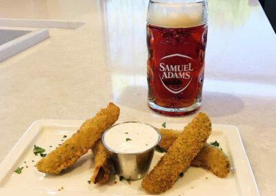 Fried Pub Pickles Homemade Dill Ranch