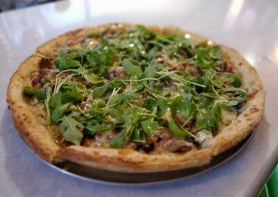 White Truffled Pizza
