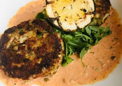Crab Cakes With Remoulade - March 2020 Special